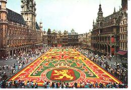 Bruxelles - CP - La Grand'Place - Tapis De Fleurs - Places, Squares