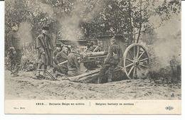 ARMEE BELGE 1914-1918 - BATTERIE BELGE - Guerre 1914-18