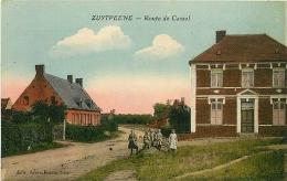 Zuytpeene. Route De Cassel - France
