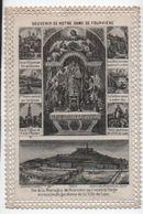 Image Religieuse/ CANIVET/Prière à Notre Dame De Fourviéres/ LYON/Bernarsconi/ Souvenir/Fin XIXéme   IMPI7 - Images Religieuses