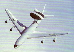 Boeing E-3 Sentry Of 552nd AWACS Wing  -  CPM - 1946-....: Ere Moderne