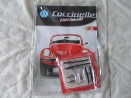 Altaya Coccinelle 1303 Cabriolet Volkswagen Numéro 93 - Maquettisme