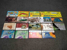 ALL WORLD  19X DIFFERENT  PHONECARDS LOT Nº1 - Other – Asia