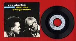 RAY CHARLES  DEE DEE BRIDGEWATER   PRECIOUS THING  45 T 1989 -   889 L 30 7 POL 102 - Other - French Music