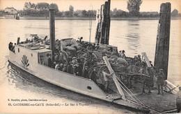 CPA 76 -  CAUDEBEC En CAUX, Le Bac A Vapeur - Caudebec-en-Caux