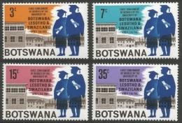 Botswana. 1967  First Conferment Of University Degrees. MH Complete Set. SG 234-237 - Botswana (1966-...)