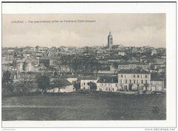 COGNAC VUE PANORAMIQUE PRISE DU FAUBOURG SAINT JACQUES CPA BON ETAT - Cognac