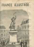 La Statue De Jeanne D'Arc à Compiègne 1880 - Books, Magazines, Comics