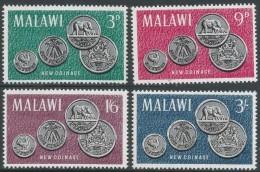 Malawi 1965 Malawi's First Coinage. MNH Complete Set. SG 232-235 - Malawi (1964-...)