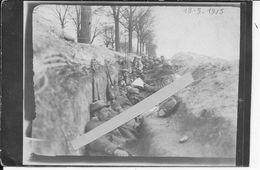 1915 Verdun Soldats Français Dans La Tranchée L'heure Du Pinard Et Du Rata 1 Carte Photo Ww1 1914-1918 1wk - War, Military