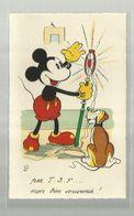 "-* MICKY MOUSE  *--""""par  T.S.F. .... Mon Bon Souvenir -  ! ! - Disneyworld"