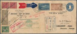 GA Katapult- / Schleuderflugpost: 1932, 31 May - 27 Jul, Catapult Flight Mail Cuba-Germany And Retour, - Luftpost