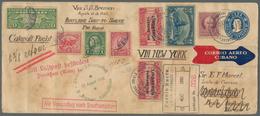 GA Katapult- / Schleuderflugpost: 1932, 10 Aug - 7 Sep, Catapult Flight Mail Cuba-Germany And Retour, U - Luftpost