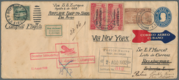 GA Katapult- / Schleuderflugpost: 1932, 2 Aug - 14 Oct, Catapult Flight Mail Cuba-Finland And Retour, U - Luftpost