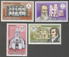Samoa. 1970 8th Anniv Of Independence. MNH Complete Set. SG 337-340 - Samoa