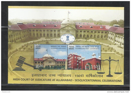 INDIA, 2016, Allahabad High Court, Architecture, Miniature Sheet, MNH, (**) - Ongebruikt