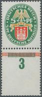 ** Deutsches Reich - Weimar: 5 Pfg. Nothilfe 1928 Mit Dem Sehr Seltenen Stehenden Wasserzeichen Und Sen - Ungebraucht