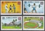 Samoa. 1973 Commonwealth Games, Christchurch. MH Complete Set. SG 422-425 - Samoa