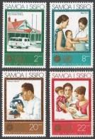 Samoa. 1973 25th Anniv Of WHO. MNH Complete Set. SG 413-416 - Samoa