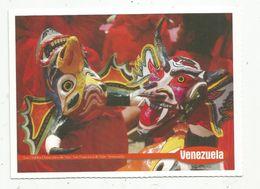 Cp , VENEZUELA , LOS DIABLOS DANZANTES DE YARE, SAN FRANCISCO DE YARE ,vierge - Venezuela