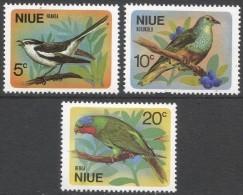 Niue. 1971 Birds. MH Complete Set. SG 158-160 - Niue