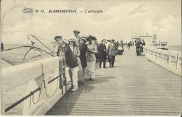 Blankenberghe -- L' Estacade. (2 Scans) - Blankenberge