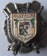 INSIGNE POMPIERS  DE SAINT ANDRE DE LAREUNION - Firemen