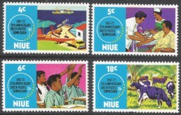 Niue. 1972 25th Anniv Of South Pacific Commission. MH Complete Set. SG 170-173 - Niue