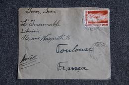 Lettre Du BRESIL ( RECIFE) Vers FRANCE ( TOULOUSE ) - Briefe U. Dokumente