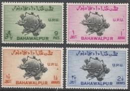 Bahawalpur. 1949 75th Anniv Of UPU. MH Complete Set. SG 43-46 - Bahawalpur