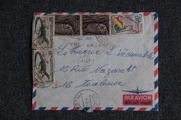 Lettre Du CONGO ( GAMBOMA ) Vers FRANCE ( TOULOUSE) - Democratic Republic Of Congo (1964-71)