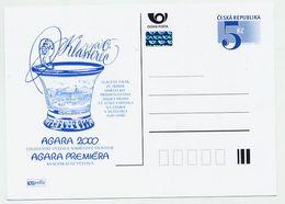 CZECH REPUBLIC 2000 5 Kc AGARA 2000 Exhibition Unused.  Michel P54-A1 - Postal Stationery