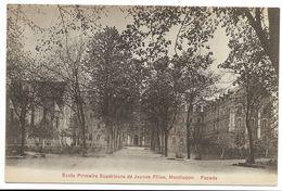 03-MONTLUCON-Ecole Primaire Supérieure De Jeunes Filles - Façade - Montlucon