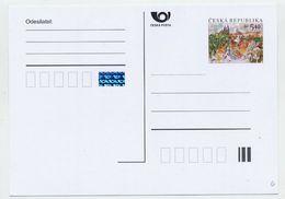 CZECH REPUBLIC 1999 4 Kc Postcard European City Of Culture Unused.  Michel P45 - Postal Stationery
