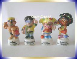 Les Zaddos ...lot De 4 .. Ref AFF : 91-2002..  ( Pan 0041) - Characters