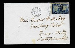 A5249) US Brief Baltimore 11.05.29 N. Zug / Schweiz - Briefe U. Dokumente