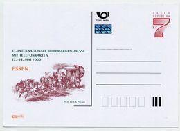 CZECH REPUBLIC 1999 7 Kc Postcard Essen Stamp Fair Unused.  Michel P41 II-A2 - Postal Stationery