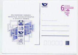 CZECH REPUBLIC 1998 6 Kc Postcard Praga '98 Unused.  Michel P36 - Postal Stationery