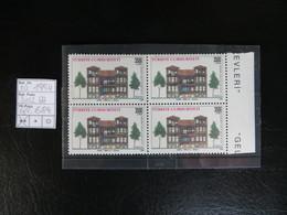 """1994  """" Türkische Häuser """"  3500 Lira Im 4er Aus Bogenrand,  Sauber Postfrisch   LOT 684 - 1921-... Republik"""