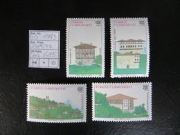 """1993  """" Türkische Häuser I """"  Satz Komplett Sauber Postfrisch,   LOT 685 - 1921-... Republik"""