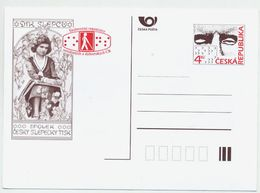 CZECH REPUBLIC 1997 4 Kc Blind And Partially-sighted Unused.  Michel P28 - Postal Stationery