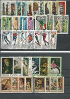 BURUNDI 6 Séries Complète (39) O Cote 8,50 $ 1967-68 - 1962-69: Oblitérés