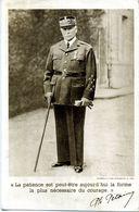 """Maréchal Pétain - """" La Patience Et Peut-être La Forme La Plus Nécessaire Du Courage """". - Personen"""