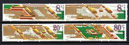 Serie  Nº 2752/5  China - Unused Stamps
