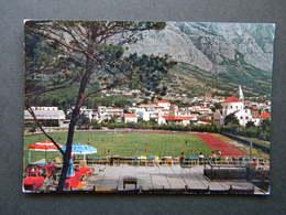 CROATIA - MAKARSKA  -1971 -soccer Field - Croacia