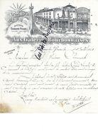 52 - Haute-marne - BOURBONNE-LES-BAINS - Facture HESSE - Nouveautés - 1913 - REF 273A - 1900 – 1949