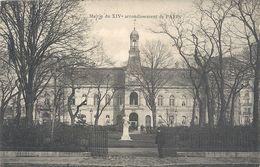MAIRIE DU XIVe ARRONDISSEMENT DE PARIS - AFFR LE 19-5-1906 AU VERSO . 2 SCANES - District 14