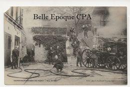 75 - PARIS - Sapeurs-Pompiers - Feu De Cave +++ J. Mulot, Phot. +++ 1905 / ÉTAT - Autres