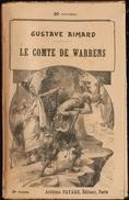 Gustave Aimard - Le Comte De Warrens - Tomes : 1,2,3,4 ( Roman Complet ) . - Books, Magazines, Comics