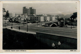 C.P.  PICCOLA        CARACAS    PUENTE  NUEVA  REPUBLICA          2 SCAN  (VIAGGIATA) - Venezuela